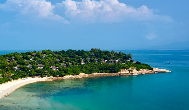 Six Senses Samui: Aerial View