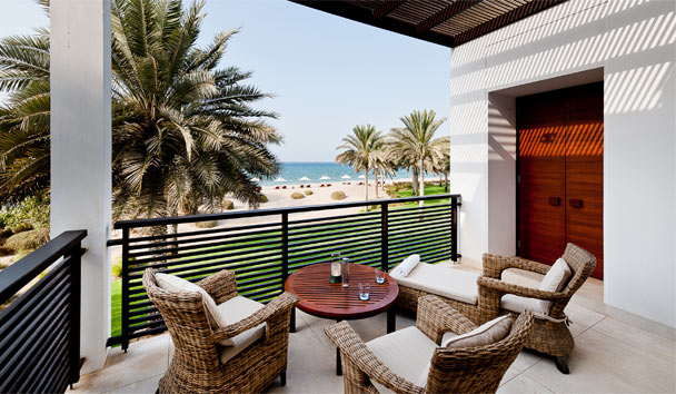 The Chedi Muscat: Club Suite Balcony