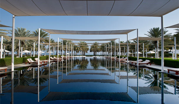 The Chedi Muscat: The Serai Pool