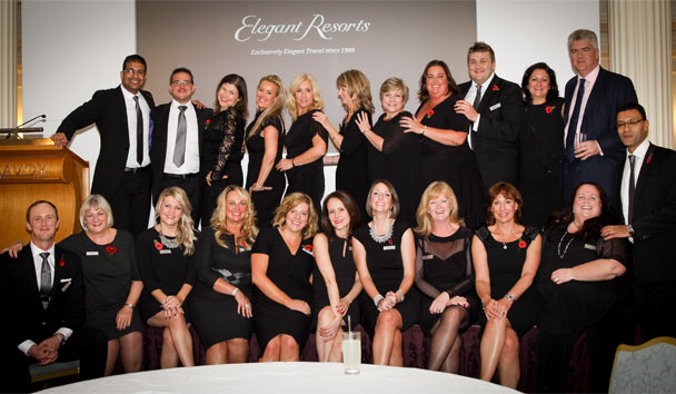 Elegant Resorts' Exclusive Awards Ceremony and Dinner