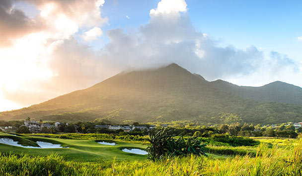 Belle Mont Farm: Irie Fields Golf Course and Kittitian Hill