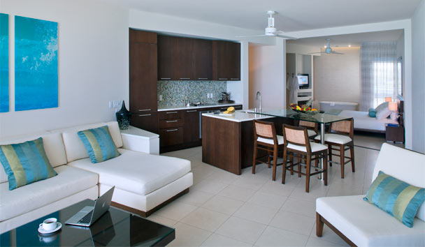 Gansevoort Turks & Caicos, A Wymara Resort: One Bedroom Oceanfront Suite
