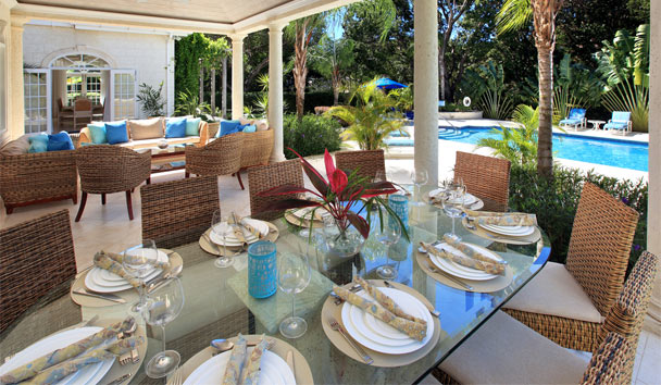 Saramanda: Fine Dining Patio