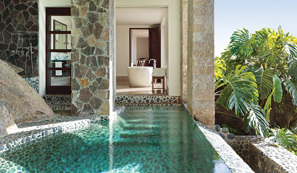 Hummingbird: Master Bedroom Private Plunge Pool