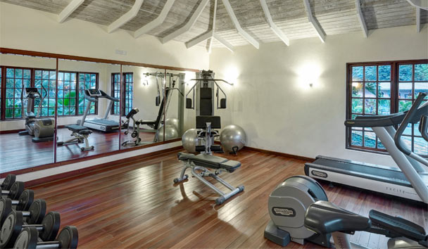 Bequia Beach Hotel: Gym