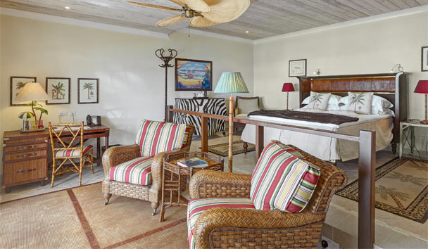Bequia Beach Hotel: Bedroom