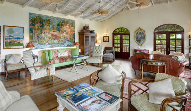 Bequia Beach Hotel: Living Area
