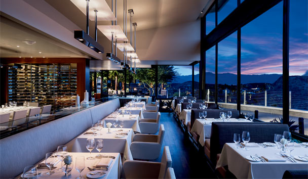 The Ritz-Carlton, Rancho Mirage: The Edge Steakhouse