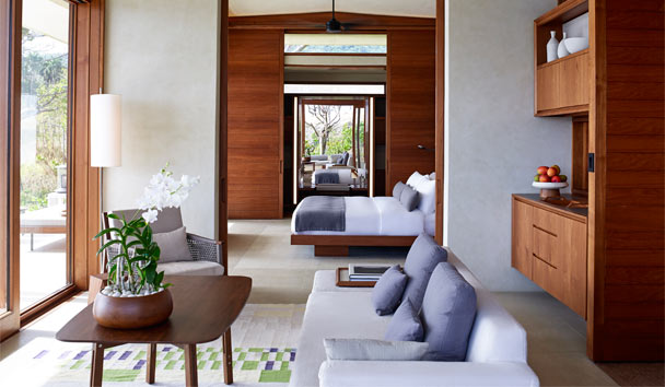 Amanera: Living Area and Bedroom