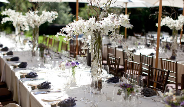 Meadowood Napa Valley: Wedding Banquet