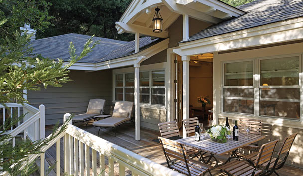 Meadowood Napa Valley: Hillside Suite Deck