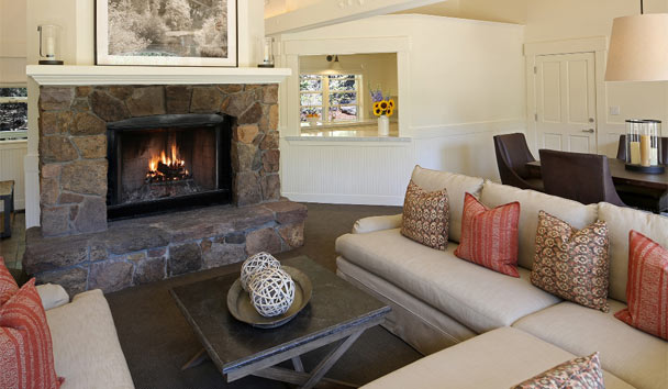 Meadowood Napa Valley: Hillside Terrace Living Room