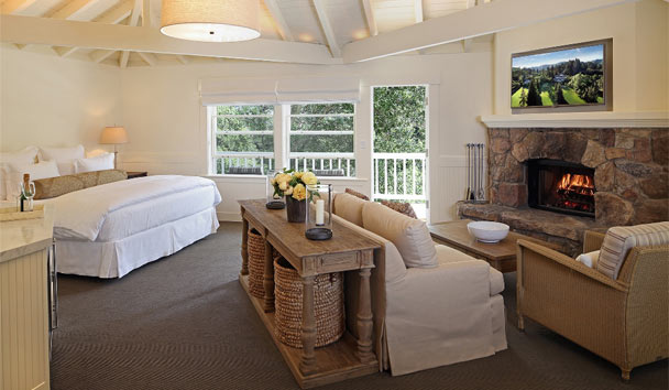 Meadowood Napa Valley: Hillside Terrace Room
