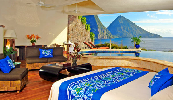 Jade Mountain , St Lucia
