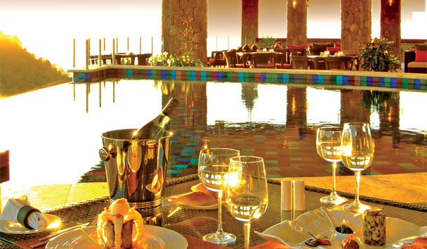 Jade Mountain: Resort Dining