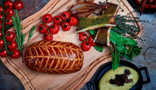 Beef Wellington on the menu at Bread Street Kitchen & Bar, Dubai