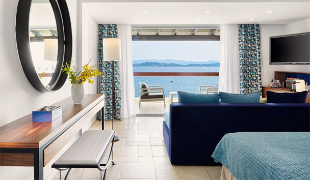 Eagles Palace: Junior Suite on the Sea Front