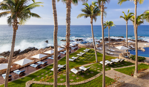One&Only Palmilla, Los Cabos, Mexico: Vista Deck and Lounge Area