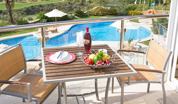 Villa El Cid: Balcony Overlooking the Pool