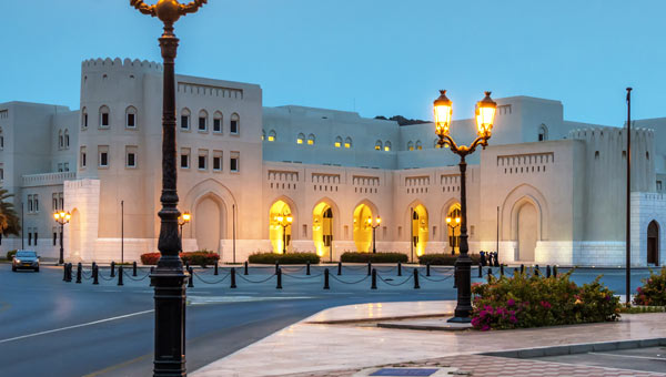 Luxury arabian gulf holidays luxury hotels elegant resorts for Hotel luxury oman