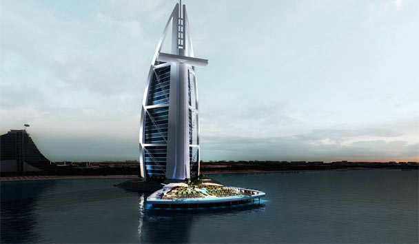 Burj Al Arab's new North Deck
