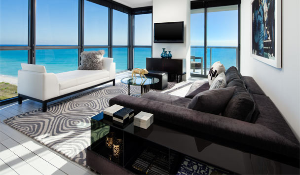 W South Beach: Marvelous Suite Living Room