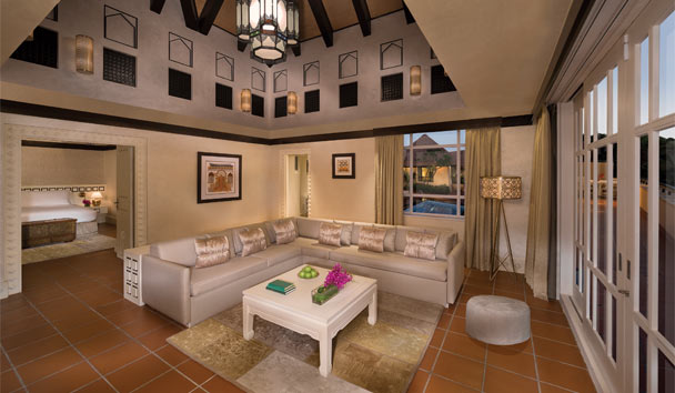Beit Al Bahar Villas: Two Bedroom Villa Living Room