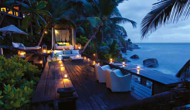 Hide away in tropical paradise at North Island