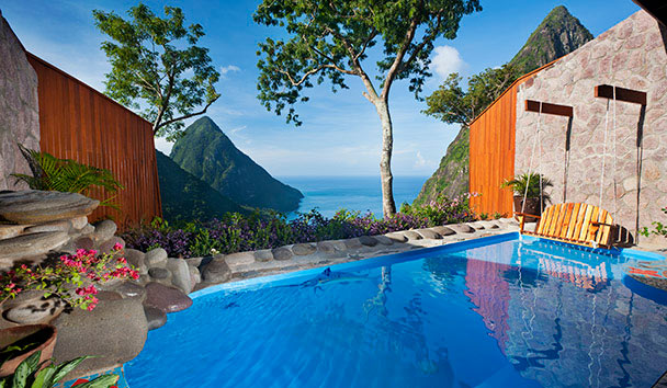Indulge in the beauty of Paradise Ridge at Ladera, St Lucia