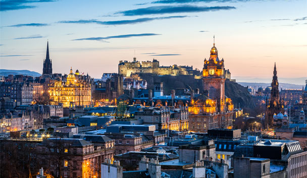 Scottish Legends: Edinburgh Skyline