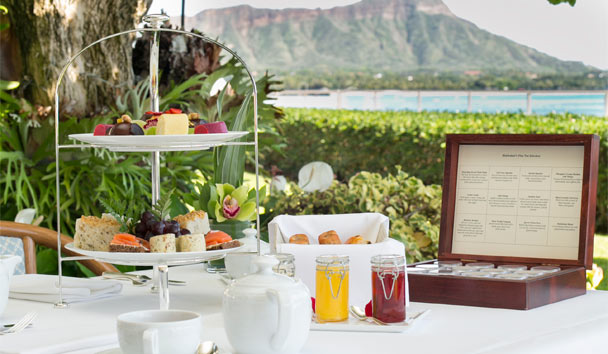 Halekulani: Afternoon Tea at Orchids