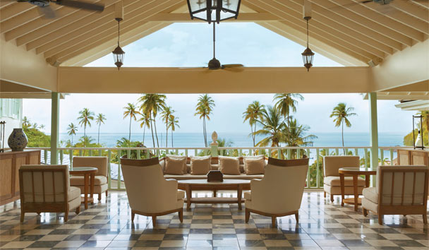 Sugar Beach, A Viceroy Resort: Palm Court Lounge