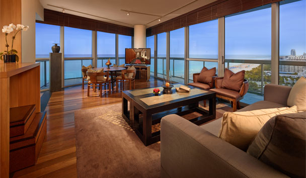 The Setai: Ocean View Suite