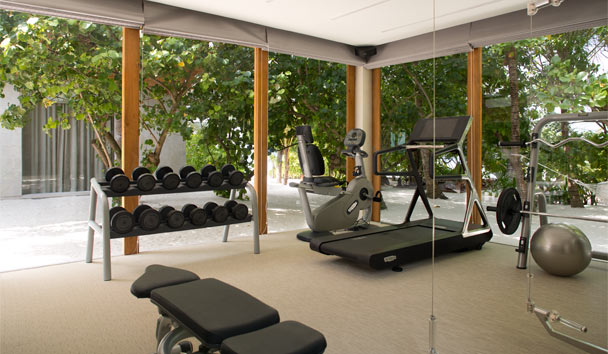 Coco Privé Kuda Hithi Island: Fitness Center