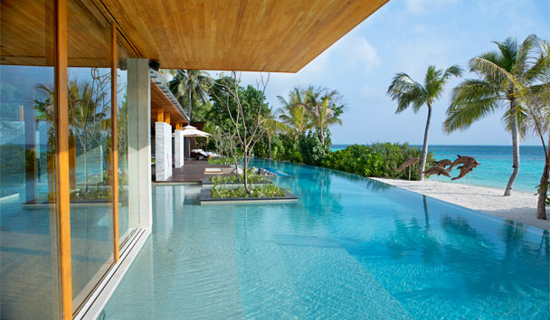 Coco Privé Kuda Hithi Island: Villa Private Pool