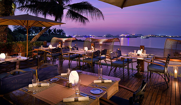 One&Only Royal Mirage, The Palace: Enjoy dinner at The Beach Bar & Grill