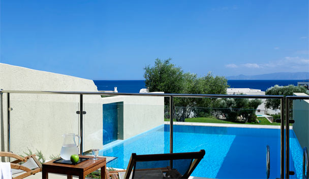 Porto Elounda GOLF & SPA RESORT: Porto Sea View Suite with Individual Pool