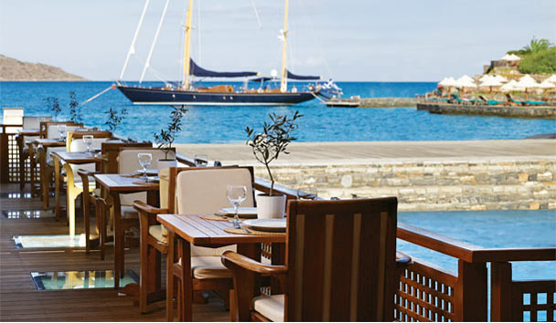 Porto Elounda GOLF & SPA RESORT: Odysseus Restaurant
