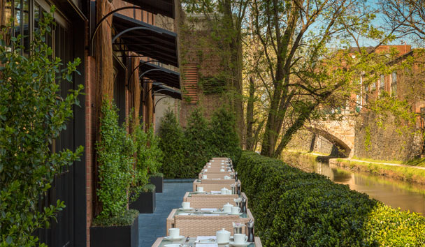 Rosewood Washington: Rooftop Dining