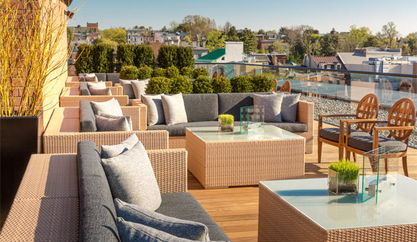 Rosewood Washington D.C. Georgetown: Rooftop Lounge
