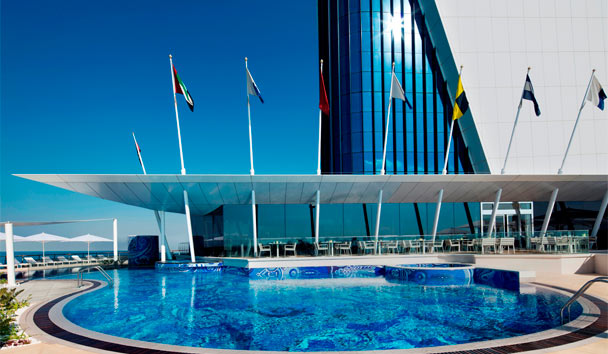 Burj Al Arab Jumeirah: Swimming Pool