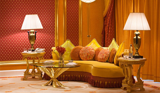 Burj Al Arab Jumeirah: Royal Suite