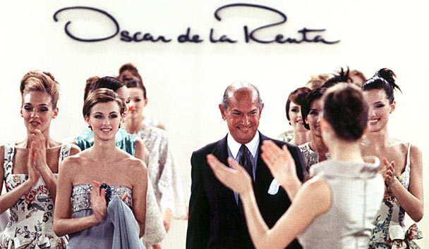 Oscar de la Renta is one of America's most influential fashion designers