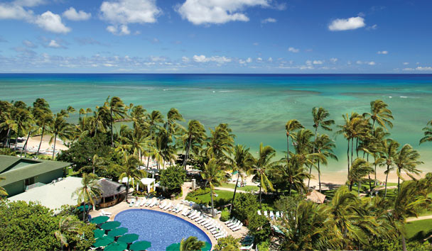 The Kahala Hotel & Resort: Pool and beach