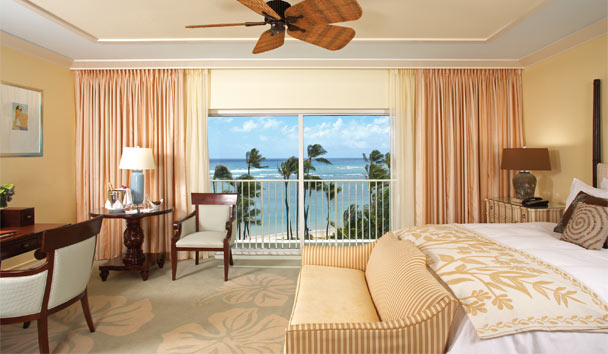 The Kahala Hotel & Resort: Ocean King Room