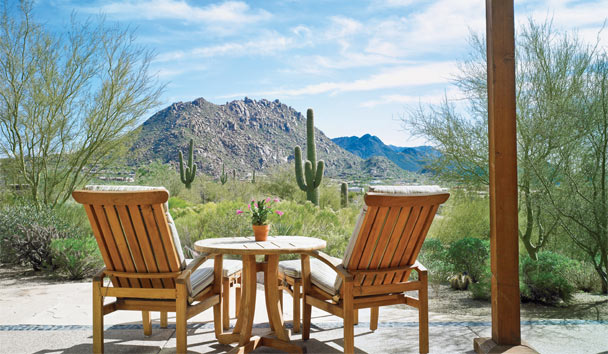 The Best Places To Visit In April: Enjoy the view at Four Seasons Resort Scottsdale