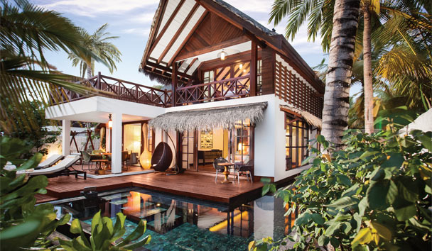 Jumeirah Vittaveli: Two Bedroom Beach Suite