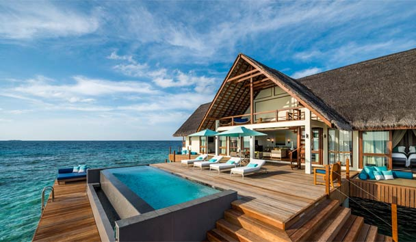 Four Seasons Resort Maldives at Landaa Giraavaru: Two Bedroom Water Suite