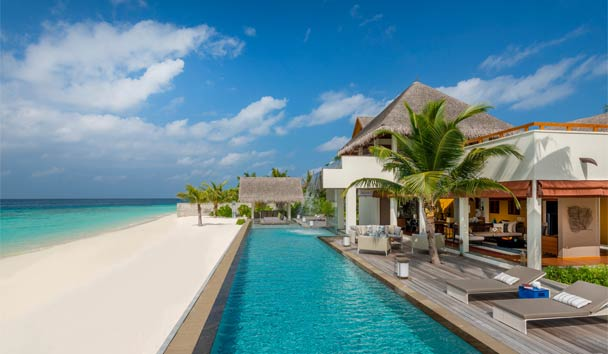 Four Seasons Resort Maldives at Landaa Giraavaru: Three Bedroom Landaa Estate
