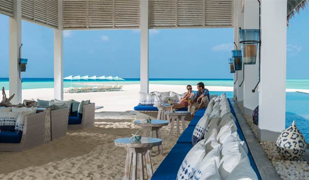 Four Seasons Resort Maldives at Landaa Giraavaru: Blu Bar